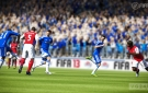 FIFA 13 Kalou lobs the ball passed defenders