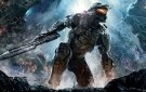 Halo 4 - Master Chief blue backdrop scenery