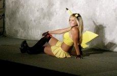 Jessica Nigri Pikachu costume 05