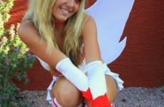 Jessica Nigri Zangoose costume 03