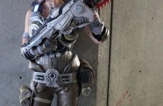 Jessica Nigri Gears of War cosplay Anime Expo