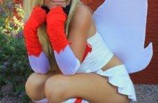 Jessica Nigri Zangoose costume 04