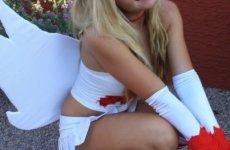 Jessica Nigri Zangoose costume 12