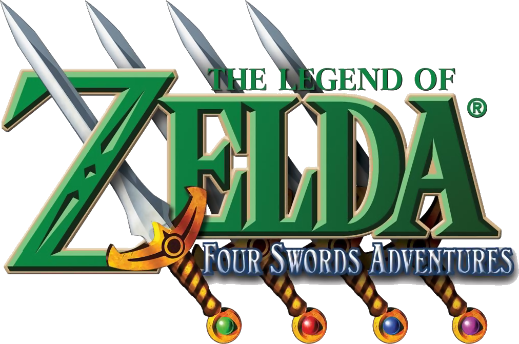 This is the Zelda logo from the game The Legend of Zelda: Four Swords Adventure