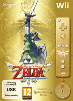 zelda skyward sword special edition cover