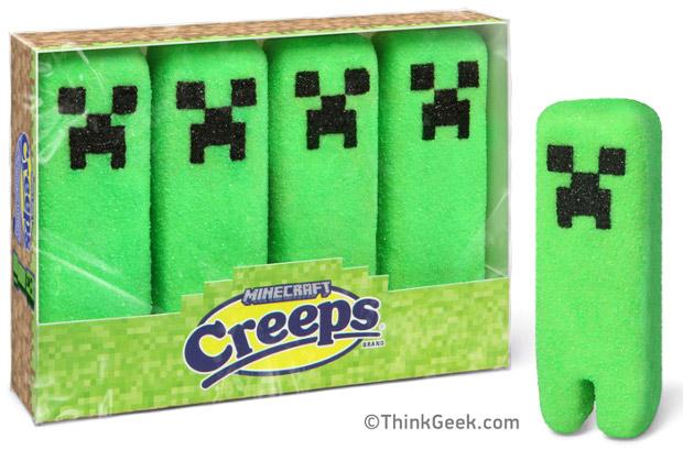 Minecraft merchandise Creeps