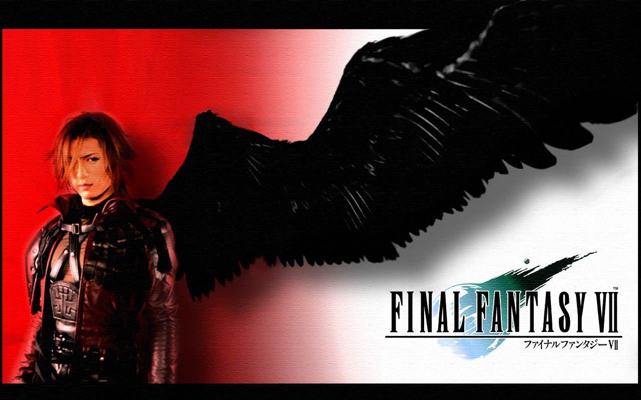 Final Fantasy 7 Crisis Core Wallpaper Genesis Black Wing