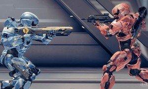 Halo 4 Multiplayer Red V Blue battle - Spartan IV