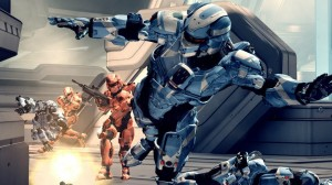 Halo 4 in-game graphics. Multiplayer in game visuals from halo 4 online multiplayer matchmaking.