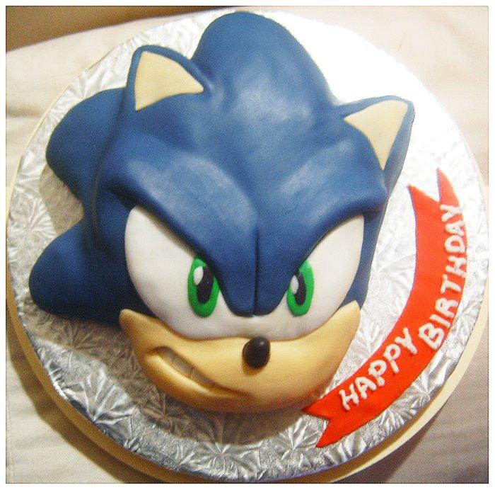 Amazing Sonic Birthday Cake Gaming Now Funny Birthday Cards Online Elaedamsfinfo