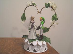 zelda wedding cake