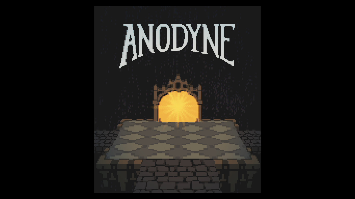 Anodyne: start screen