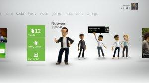 New Xbox Social Tab