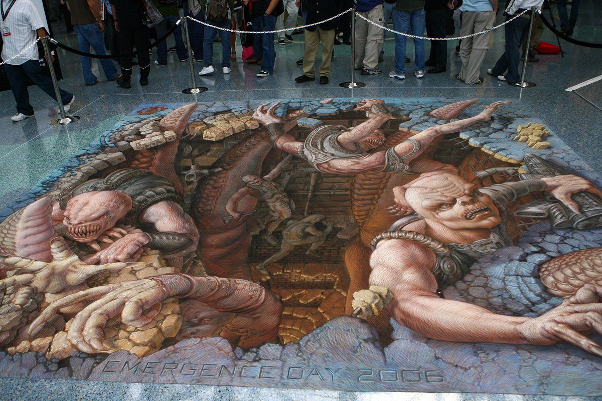 Gears of War: Emergence Day 2006 - Kurt Wenner