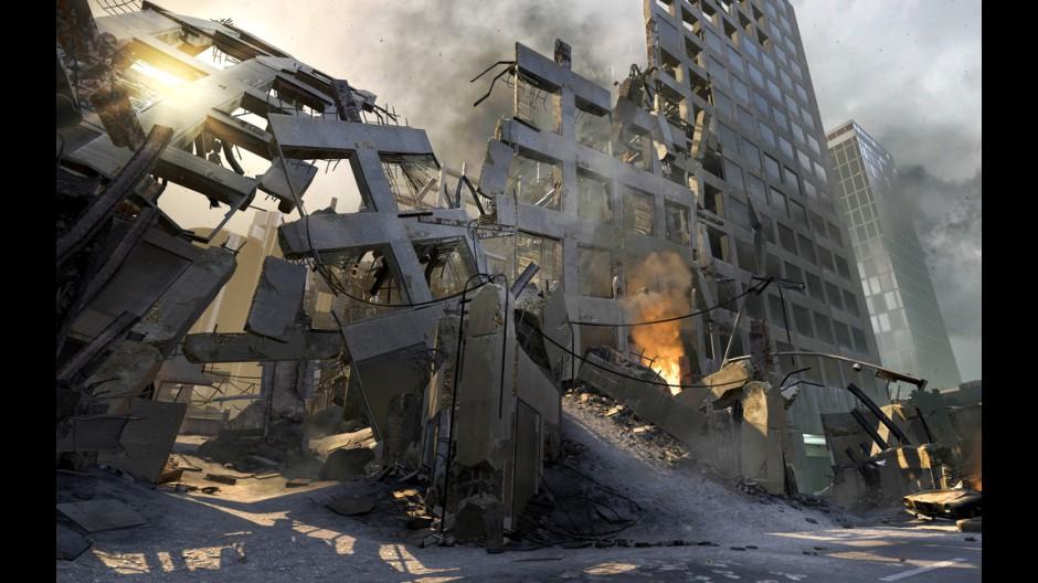 Black Ops 2 City Destruction