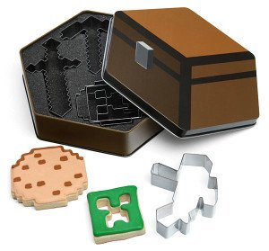 minecraft style cookie cutters for baking