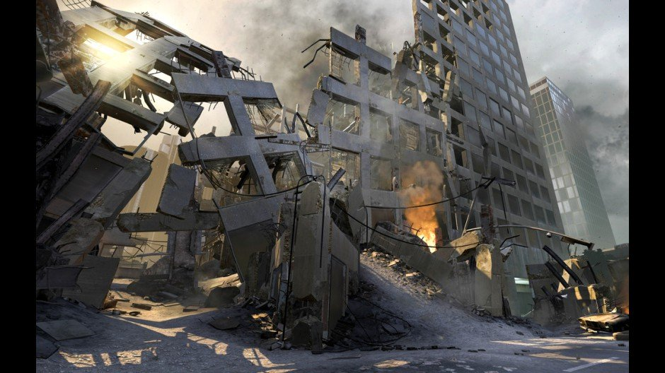 Black Ops 2 City Destruction