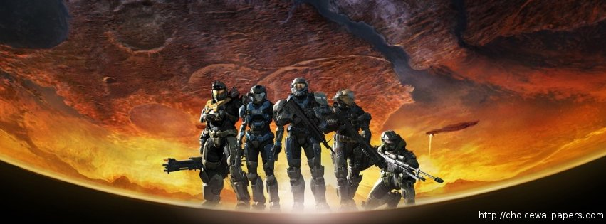 Halo Reach Facebook Timeline Cover