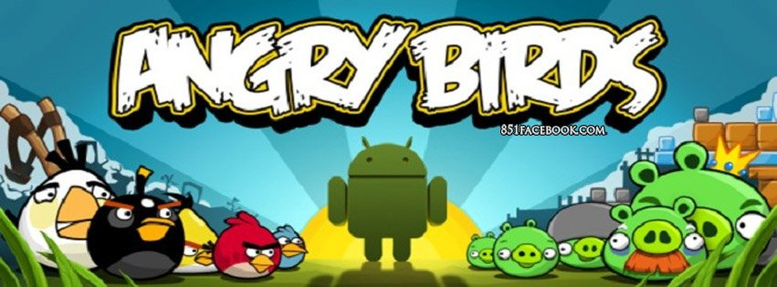 Angry Birds Android Facebook Timeline Cover