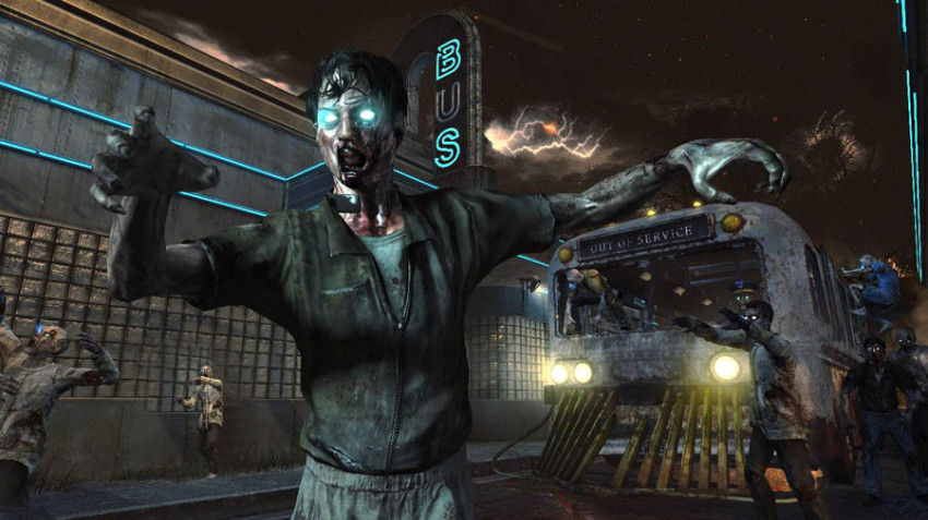 Black Ops 2 Tranzit Zombies Bus Screenshot