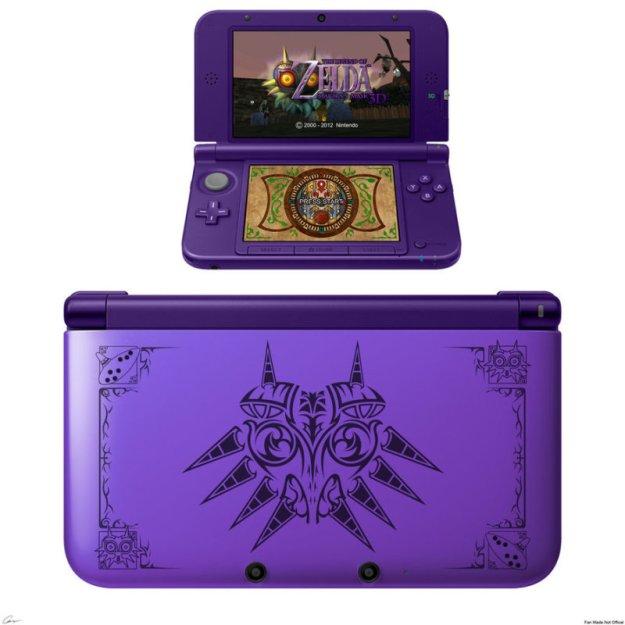Majora's Mask 3DS console