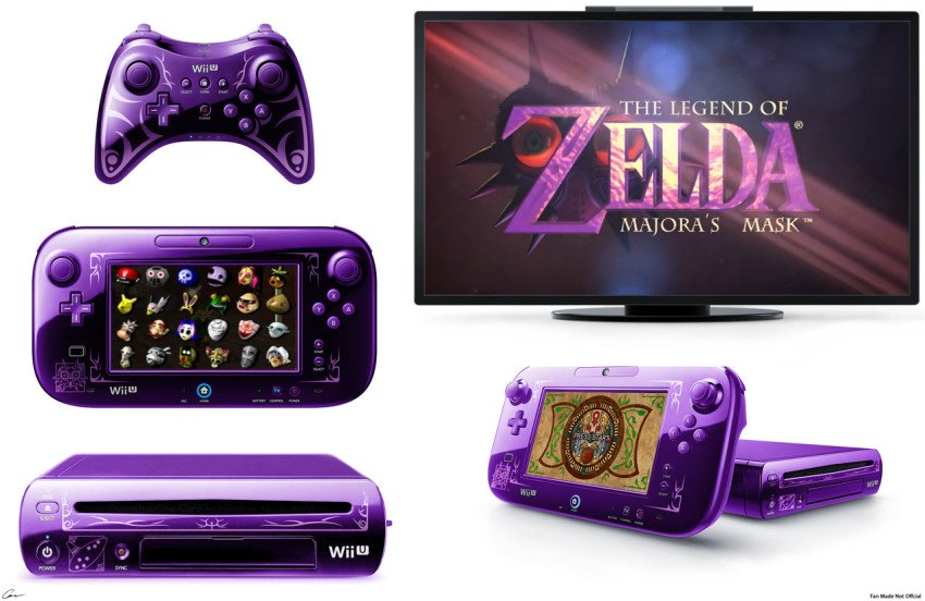 Majora's mask wii u moonfall edition
