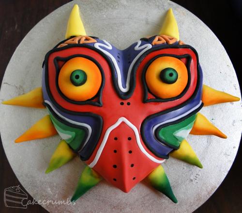 Zelda Majora's Mask Cake Complete